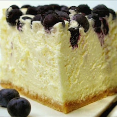 Philadelphia Blueberry Crown Cheesecake