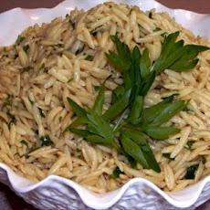 Orzo with Brown Butter and Parsley
