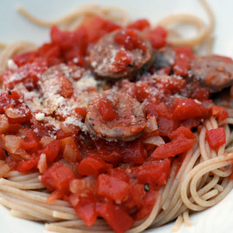 Beer-Simmered Italian Sausage Tomato Sauce