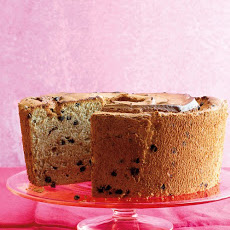 Mocha Chip Angel Food Cake