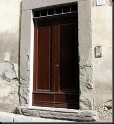 Door I painted Sept
