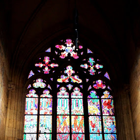 color of faith by Andreja Svenšek - Buildings & Architecture Places of Worship ( god, church, faith, color, tainted glass,  )