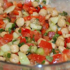 Chickpea Salad With Cumin and Lemon