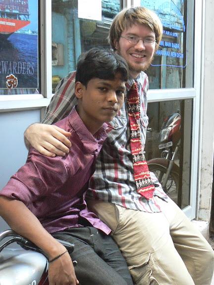"""Amar calls this """"India seat."""""""