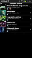 Screenshot of CosmoCaixa