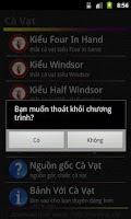Screenshot of Cà Vạt