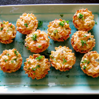 Crab Tarts Appetizer Recipes