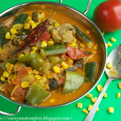 Summer Vegetable Curry