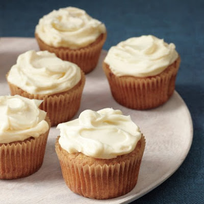 Spiced Parsnip Cupcakes