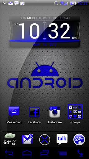 NateModz Blue CM10 Theme