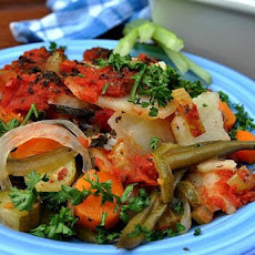 Greek Vegetable Bake