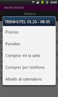 Screenshot of Renfe Online is now Ya Tren