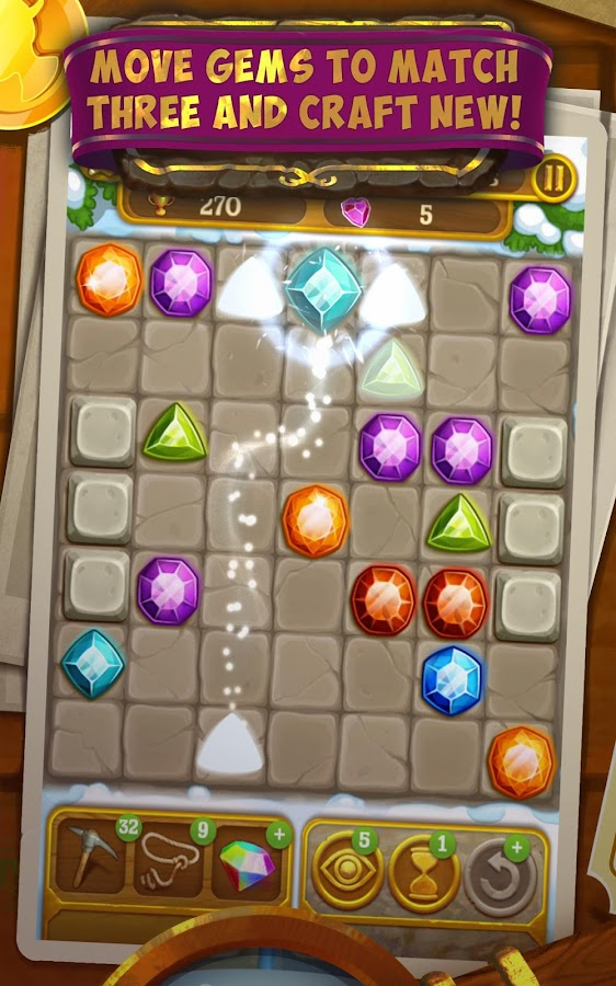Gemcrafter: Puzzle Journey Screenshot 7