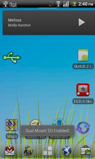 Dual Mount SD Widget