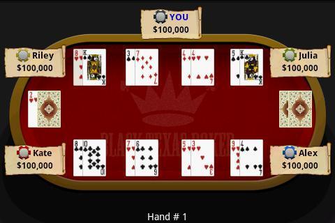 Black Texas Poker free