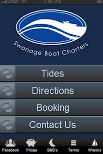 Swanage Boat Charters - screenshot
