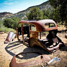 Tales of long ago by Sandy Pottorff - Transportation Automobiles