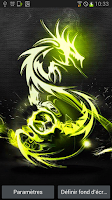 Screenshot of Battery Tribal Dragon LWP