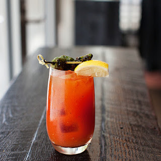 North End Grill's Bloody Bull