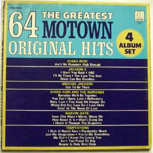 Various Artists - 64 of The Greatest Motown Original Hits