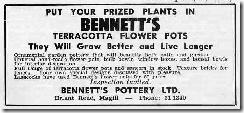 Bennetts advert