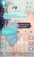 Screenshot of GO Keyboard Instrument Sound
