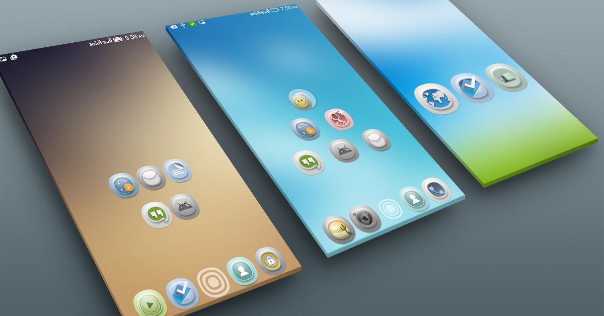 Timbul Icon Pack Screenshot 3