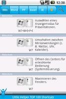 Screenshot of 100 Shortcuts for Windows 7