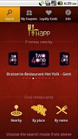 Screenshot of HAPP: dining place promotions!