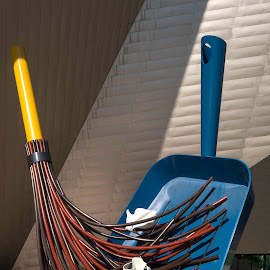 Sweeping up by Jim Downey - Artistic Objects Other Objects ( scale, sculpture, imagine, architecture, denver art museum )