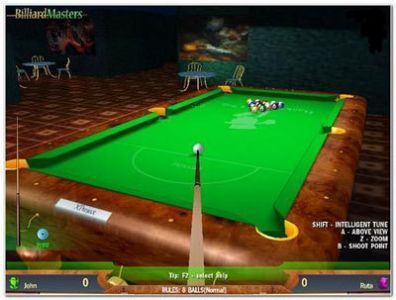 رفعي لعبة Billiard Billiard game