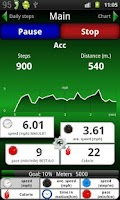 Screenshot of Pedometer 2.0