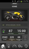 Screenshot of Zero Motorcycles