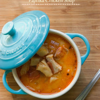 Paprika Chicken Soup