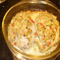 Crab Stuffed Fish Fillets