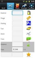 Screenshot of andro-Expense / Fee