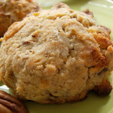 White Chocolate Pecan Scones