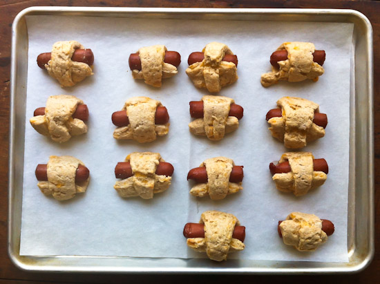 Whole Wheat Pigs in a Blanket with Cheddar Recipe | Yummly