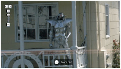 Google Maps street view なにやら怪しげなロボット