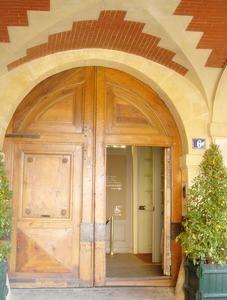 Maison de Victor Hugo-Door
