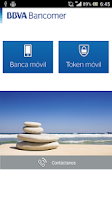 Screenshot of Bancomer móvil