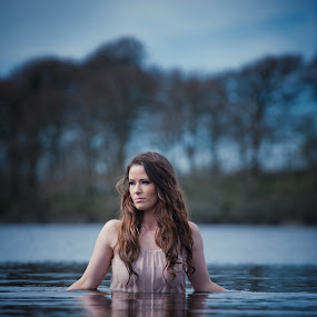 water   by Konrad Świtlicki-Paprocki - People Portraits of Women