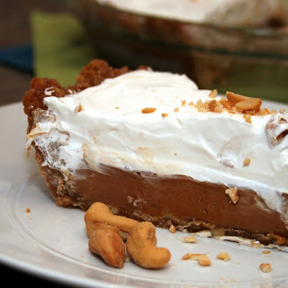Caramel Pie with Udi's Caramel Cashew Cookie Crust