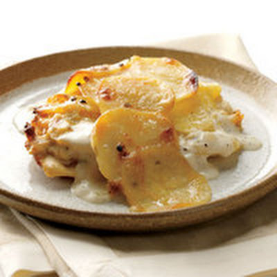 Bay-Rosemary Potato Gratin