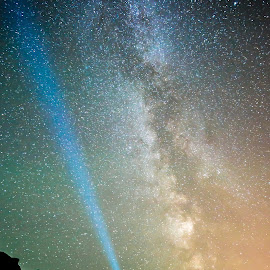 milky way by Richard Larssen - Landscapes Starscapes ( richard larssen, larssen, richard )
