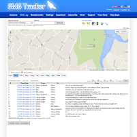 Screenshot of SMS Tracker - Public Beta