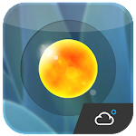 Aero weather clock widget ◕‿◕ APK Image