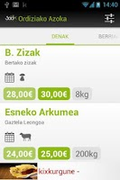 Screenshot of Ordiziako Azoka