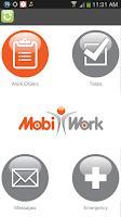 Screenshot of MobiWork