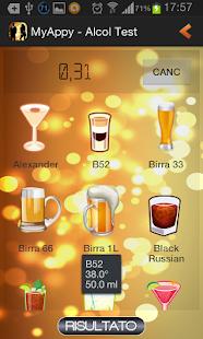 alcohol testing apk screenshot
